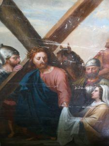 Journées Européenne du Patrimoine _ Oeuvre peinte en péril en cours de Restauration ©Muses & A.R.T.
