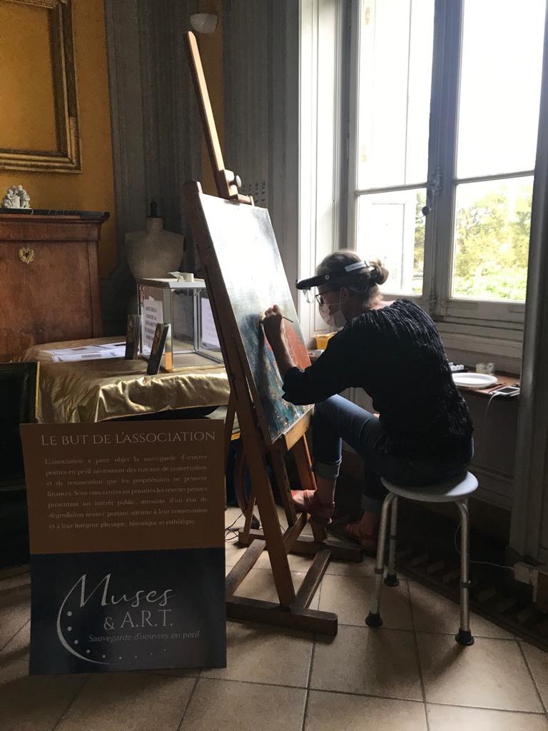 Restauration tableaux Loire