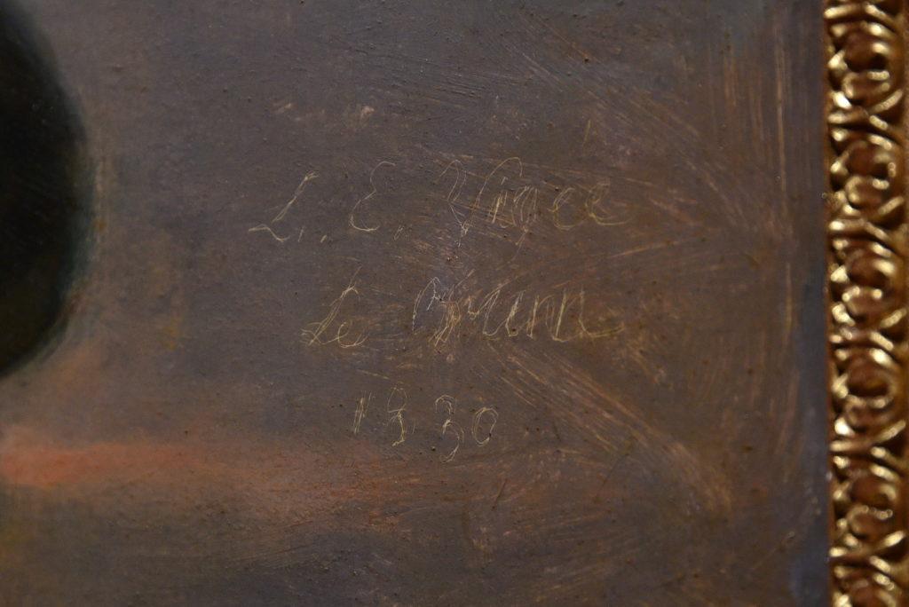 signature vigée le brun