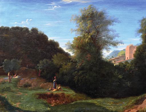 Paul Flandrin Paysage classique