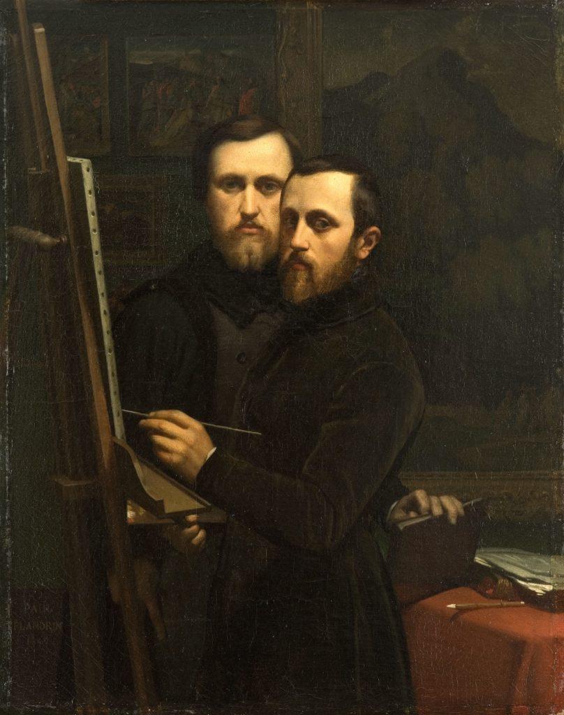Paul et Hippolyte Flandrin frères