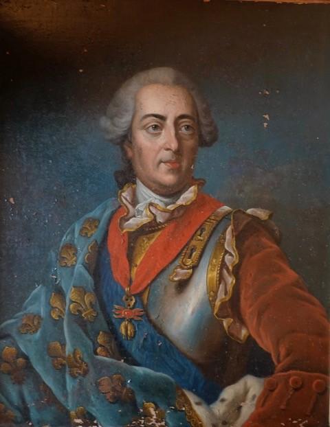Portrait-de-Louis-XV-Château-de-St-Bonnet-les-Oules-@Muses-A.R.T.