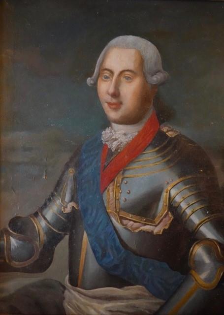 Portrait du Dauphin, Château de St Bonnet les Oules @Muses&ART